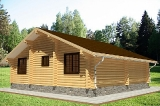 Project of Wooden House 104_5
