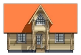 Project of Wooden House 105_1