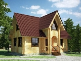 Project of Wooden House 105_7