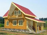 Project of Wooden House 106-2