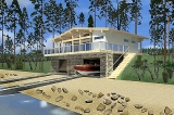 Project of Wooden House 106_1