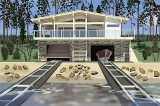 Project of Wooden House 106
