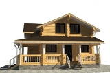 Project of Wooden House 109-2