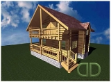 Project of Wooden House 109_1