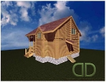 Project of Wooden House 109_2
