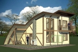 Project of Wooden House 109gk