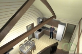 Project of Wooden House 109gk_5