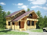 Project of Wooden House 111-2