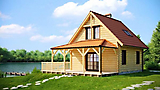 Project of Wooden House 111