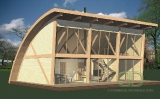 Project of Wooden House 117