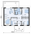 Project of Wooden House 120-2_1