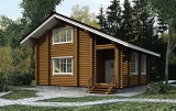 Project of Wooden House 124_1