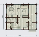Project of Wooden House 124_2