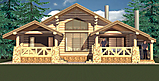 Project of Wooden House 130-2