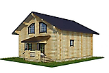 Project of Wooden House 130_3