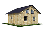 Project of Wooden House 130_4