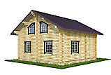 Project of Wooden House 130_5