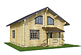 Project of Wooden House 130_6