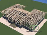 Project of Wooden House 132-2_2