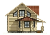 Project of Wooden House 133_1