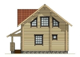 Project of Wooden House 133_2