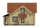 Project of Wooden House 133_3