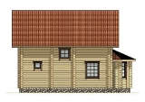 Project of Wooden House 133_4