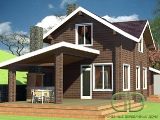 Project of Wooden House 141
