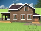 Project of Wooden House 141_2