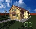 Project of Wooden House 146_2