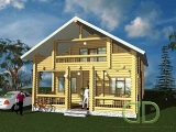 Project of Wooden House 149_1