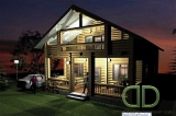 Project of Wooden House 149_2
