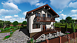 Project of Wooden House 155_5
