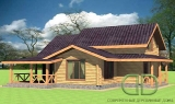 Project of Wooden House 157_1