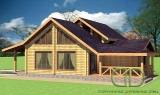 Project of Wooden House 157_2