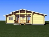 Project of Wooden House 158-2_2