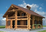 Project of Wooden House 160