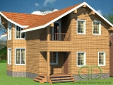 Project of Wooden House 164_2