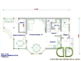 Project of Wooden House 164_3
