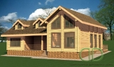 Project of Wooden House 170_1