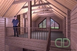 Project of Wooden House 170_3