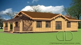 Project of Wooden House 172