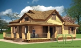 Project of Wooden House 173