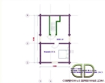 Project of Wooden House 173_3