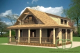 Project of Wooden House 180
