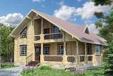 Project of Wooden House 186_1