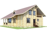 Project of Wooden House 186_3