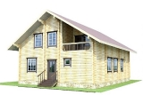 Project of Wooden House 186_4