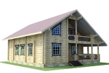 Project of Wooden House 186_5