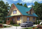 Project of Wooden House 187
